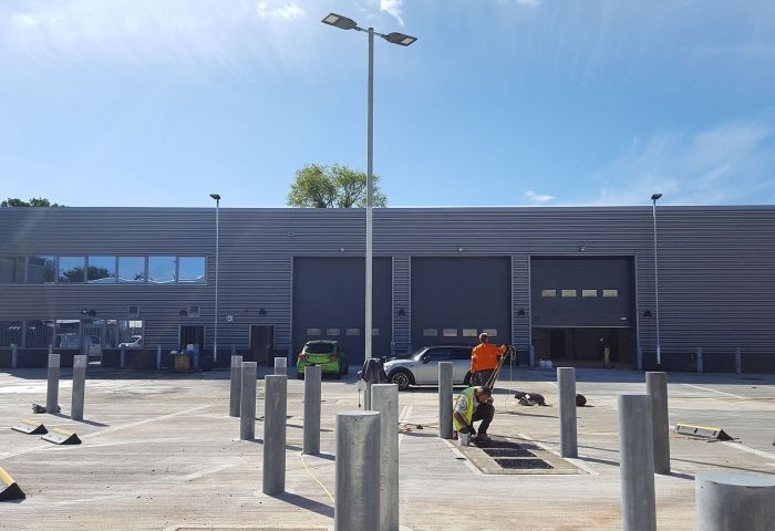New Depot for Rushmore Borough Council in Farnborough