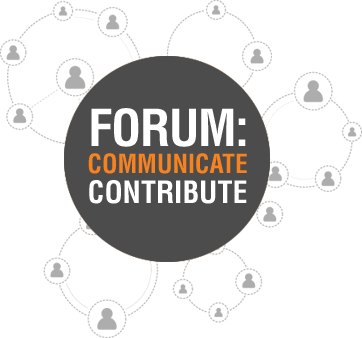Forum: Communicate Contribute